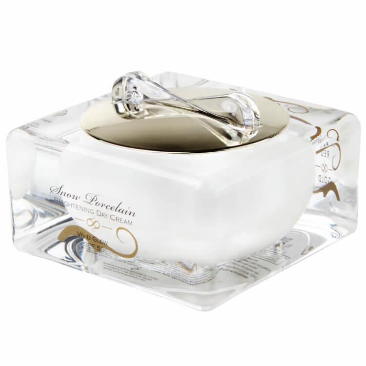 snow porcelain brightening day cream