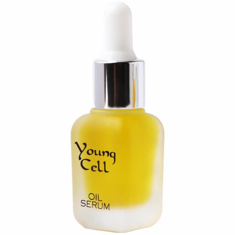 young cell oil serum decollete restructuring redensifying
