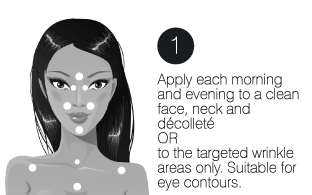 How to use step1 young cell oil serum decollete