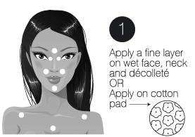 How to use step1 pure rose cleansing milk moisturising face