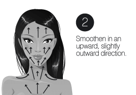 How to use step2 infinity cream facelift