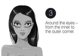 How to use step3 infinity cream facelift